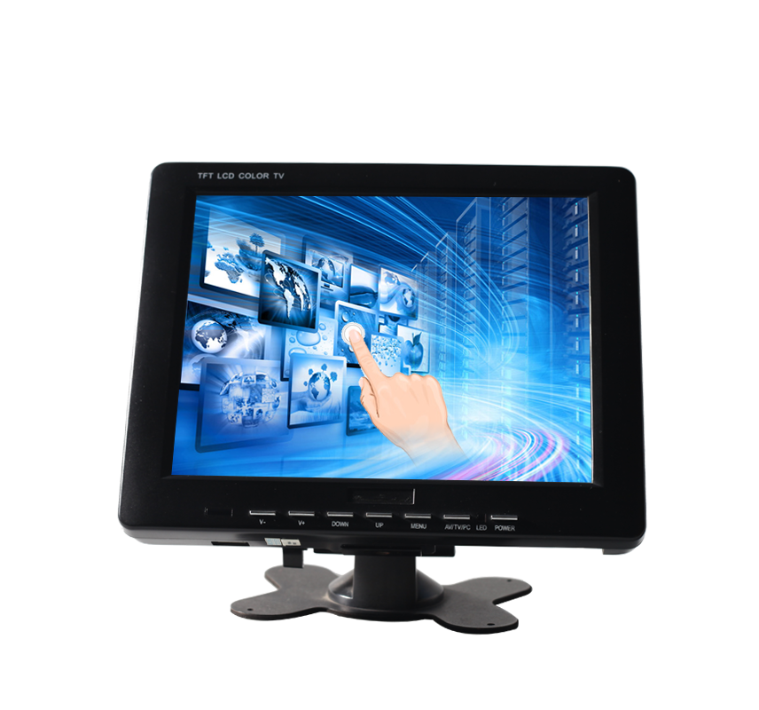 H8001-T 8 inch resistive touch screen LCD monitor display for terminals