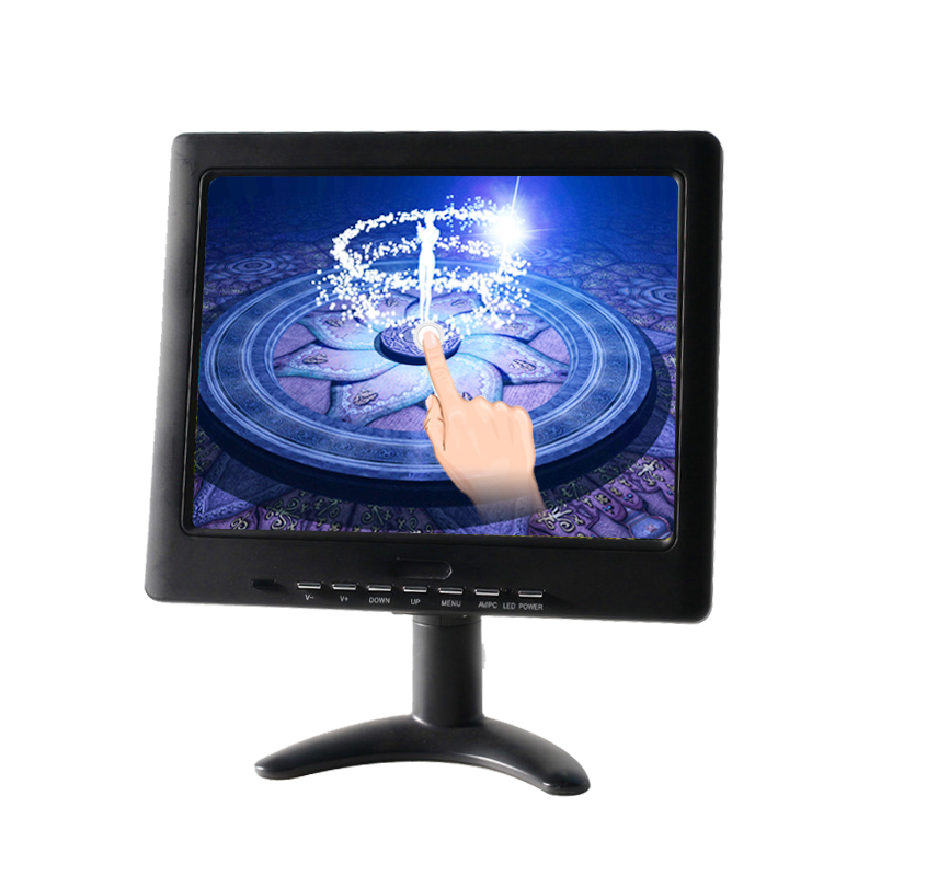 H102A-T 10 inch 4 wire resistive touch monitor