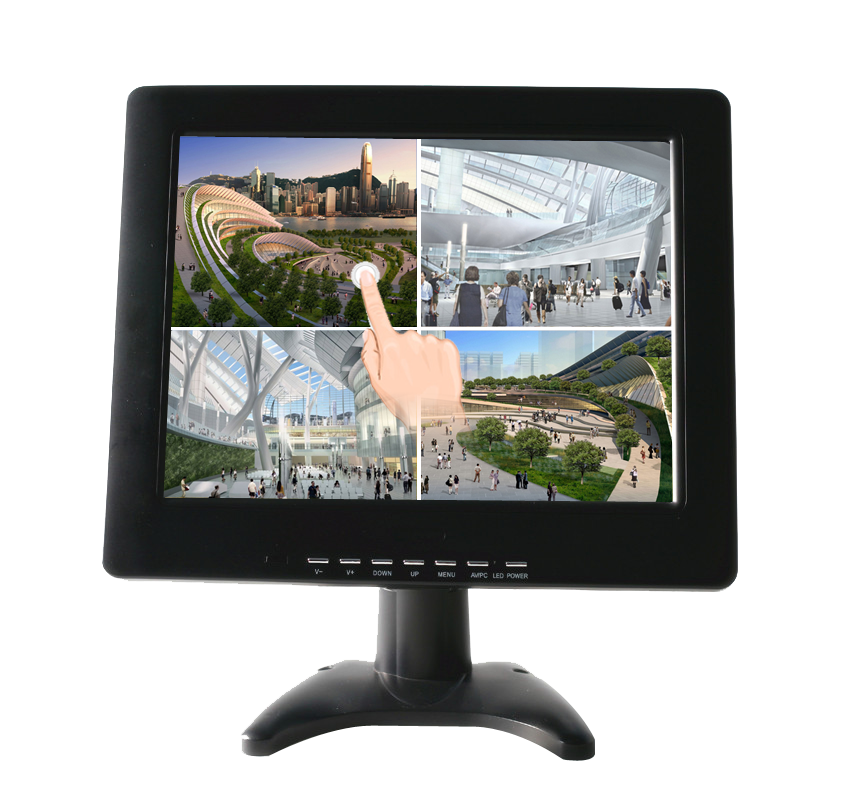 H121A-T 12.1-inch TFT  resistive touch screen LCD monitor