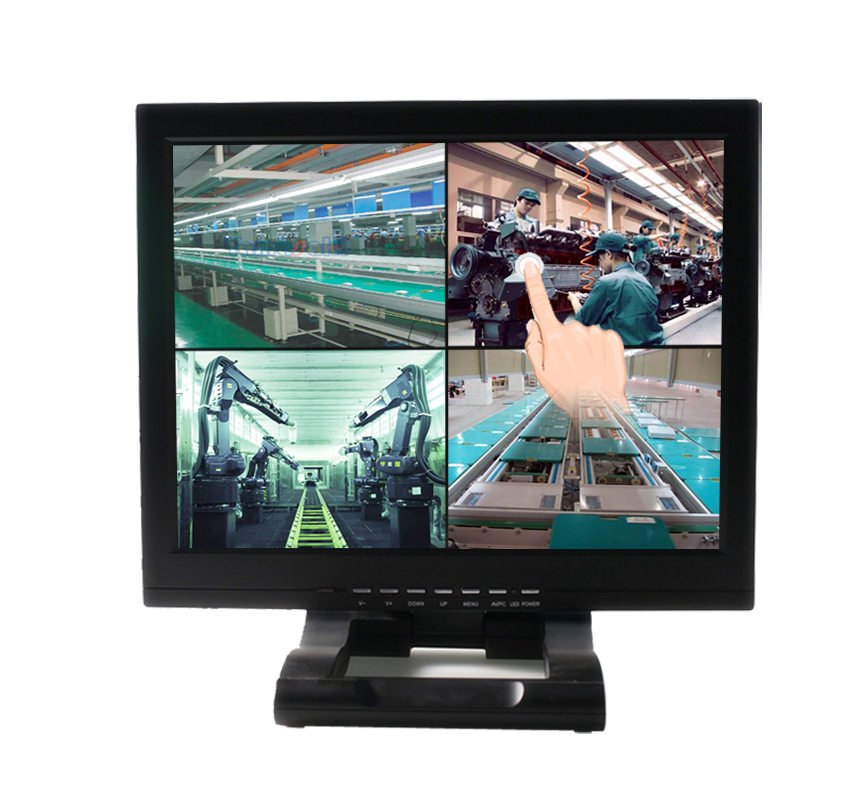 H156A-T 15-inch touch screen LCD monitor for POS systems