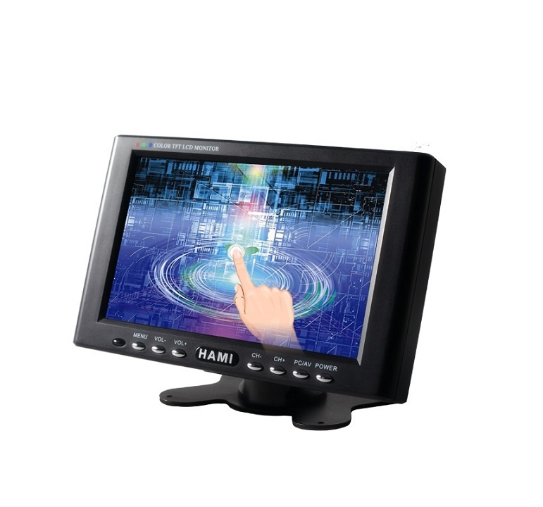 H701T 7 inch 4 wire resistive touch monitor